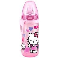 NUK láhev Active Cup, 300 ml - Hello Kitty, růžová