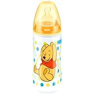 NUK kojenecká láhev Medvídek Pú, 300 ml - žlutá