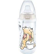 NUK láhev Active Cup, 300 ml - Medvídek Pú, tyrkysová