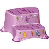 OKT Dvojstupínek HIPPO - fialový