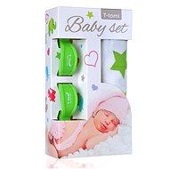 T-tomi Baby Set - zelené hvězdičky