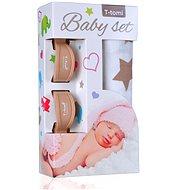 T-tomi Baby Set - béžové hvězdičky