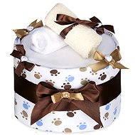 T-tomi Plenkový dort LUX velký - bílé tlapky
