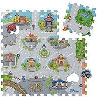 Chicco Pěnové puzzle Mesto 30 × 30 cm, 9 ks