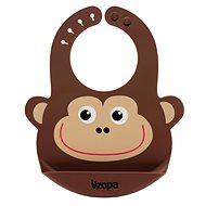 ZOPA Silikonový bryndák - Monkey