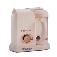 Beaba Parní vařič + mixér BABYCOOK SOLO limitovaná edice PINK