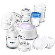 Philips AVENT Elektrická odsávačka Natural  + sada pro kojení