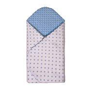 T-tomi Rychlozavinovačka MINKY, white / blue dots