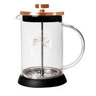 BerlingerHaus Konvička na čaj a kávu French Press 350 ml Rosegold Metallic Line BH-1493