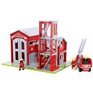 Dřevěný set hasičů