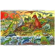 Dřevěné puzzle - Dinosauři
