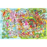 Dřevěné puzzle - Fantasyland