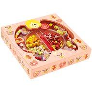 Dřěvěné navlékací korále v krabičce - Víly
