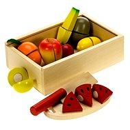 Dřevěné potraviny - Krájení ovoce
