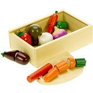 Dřevěné potraviny - Krájení zeleniny