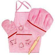 Růžový set šéfkuchařky