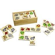Dřevěné domino - Safari