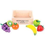 Dřevěné potraviny - Ovoce v přepravce