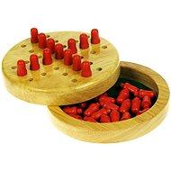 Dřevěná hra - Mini solitaire