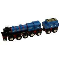 Dřevěná replika lokomotivy LMR Gordon