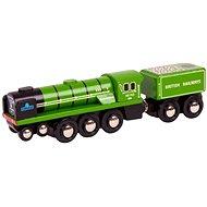 Dřevěná replika lokomotivy RH&DR Typhoon