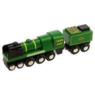 Dřevěná replika lokomotivy Tornado