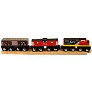 Dřevěné vláčkodráhy - CN nákladní vlak