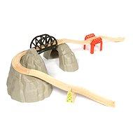 Dřevěné vláčkodráhy - Set vysokohorská dráha