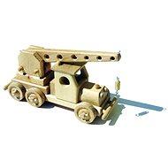 Dřevěné hračky - Autojeřáb
