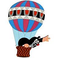 Dřevěná dekorace - Krteček v balónu