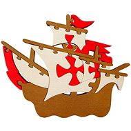 Vkladací puzzle - Velká loď Santa Maria