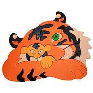 Vkladací puzzle - Tygr