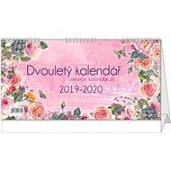 BALOUŠEK Dvouletý kalendář s měsíčním kalendáriem 2019/2020