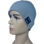 Beanie Bluetooth zimní čepice gray
