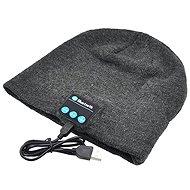 Beanie Bluetooth zimní čepice light gray