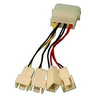 OEM 1x4pin konektor --> 2x3pin konektor 5V a 2x3pin konektor 12V