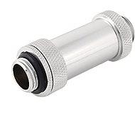 """Bitspower Silver Shining Dual G1/4"""" Aqua Link Pipe II (41-69mm)"""