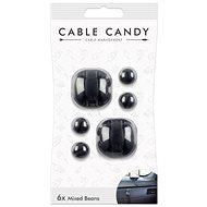 Cable Candy Mixed Beans 6 ks černý