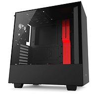 NZXT H500 černo-červená