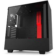 NZXT H500i černo-červená