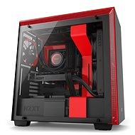 NZXT skříň H700 černo-červená
