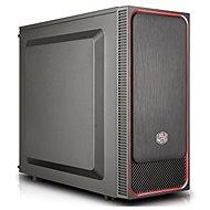 Cooler Master MasterBox E500L červená