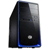 Cooler Master Elite 344 USB 3.0 černo-modrá