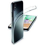 CellularLine Fine pro iPhone X bezbarvý