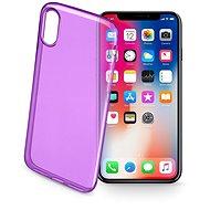 Cellularline COLOR pro iPhone X fialový
