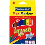 Set 8 barevných popisovačů Brush 8773