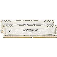 Crucial 16GB KIT DDR4 2666MHz CL16 Ballistix Sport LT White