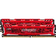 Crucial 32GB KIT DDR4 2666MHz CL16 Ballistix Sport LT Red