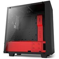 NZXT S340 Elite matná černá/červená