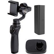 DJI Osmo Mobile + základna + inteligentní akumulátor